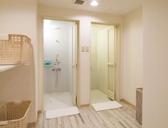 コミカプすすきの店のシャワールーム
