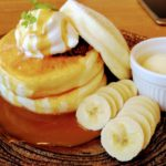 「キャラメルバナナパンケーキ」