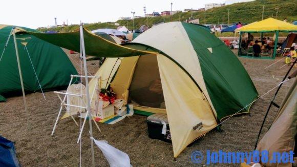留萌ゴールデンビーチの砂浜サイト