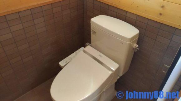 支笏湖美笛キャンプ場トイレ