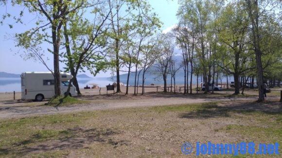 支笏湖美笛キャンプ場