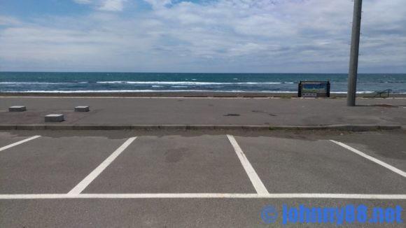 ゴールデンビーチるもいの駐車場