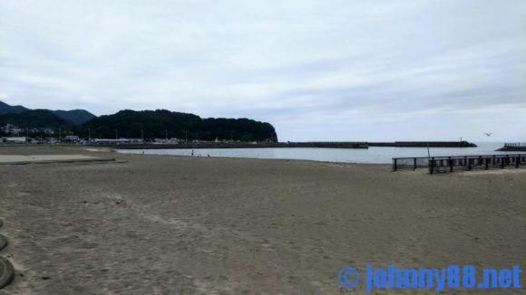 豊浦海浜公園砂浜