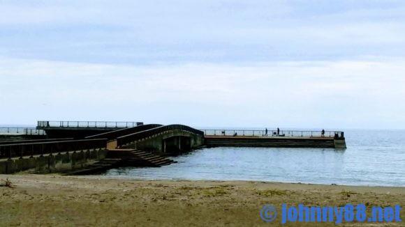 豊浦海浜公園キャンプ場の釣り場