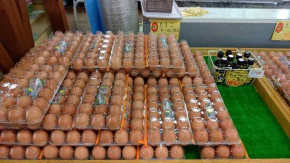 中札内村の名産「卵」