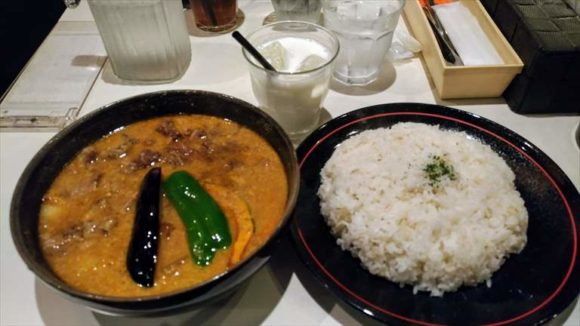 ひげ男爵のスープカレー