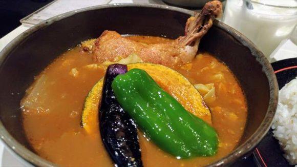 ひげ男爵のスープカレー(チキン)
