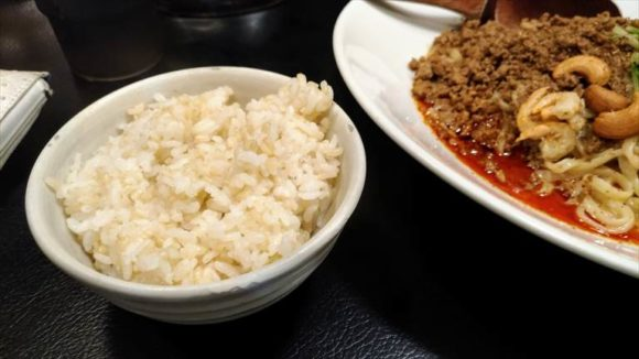 担々麺とご飯