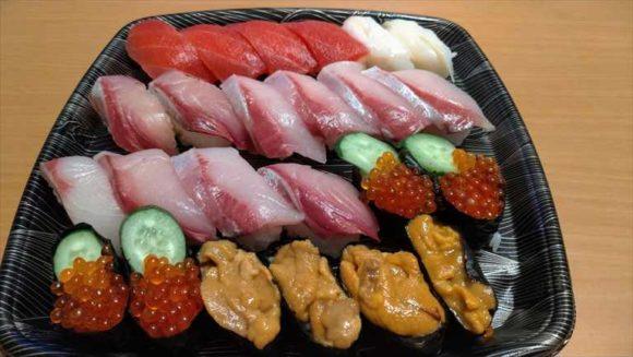 スシローの宅配テイクアウト寿司