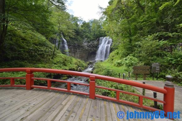 滝野すずらん公園アシリベツの滝