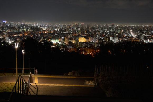 旭山公園の夜景