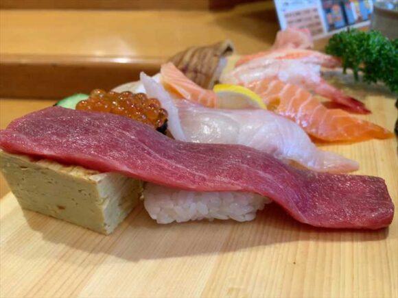 大船鮨(西区)おすすめランチ握り寿司