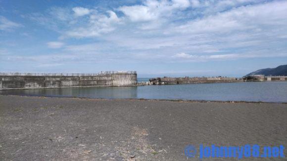 厚田の海水浴場