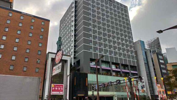 メルキュールホテル札幌外観