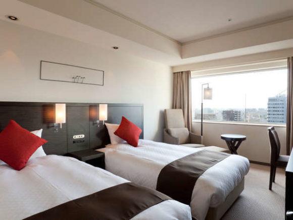 センチュリーロイヤルホテルの客室