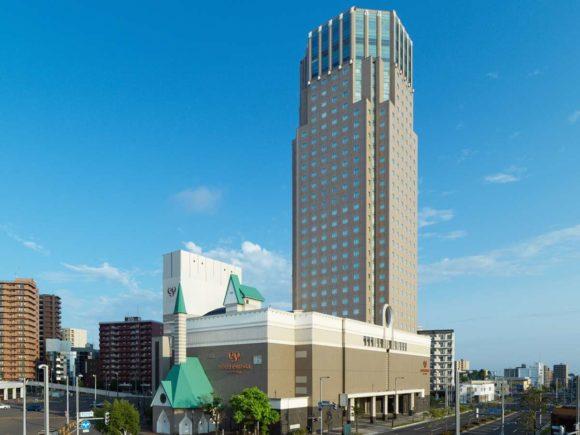 ホテルエミシア札幌外観画像