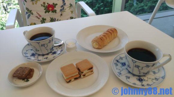 六花亭札幌本店喫茶室