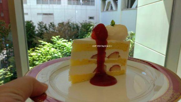 六花亭のいちごショートケーキ