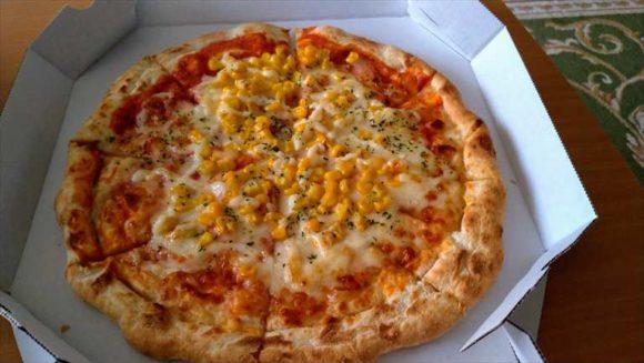 ガストのコーンピザ