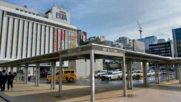 札幌駅南口タクシー乗り場
