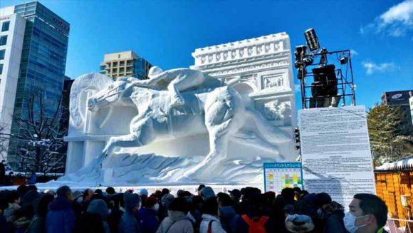 さっぽろ雪祭り「大通公園5丁目」