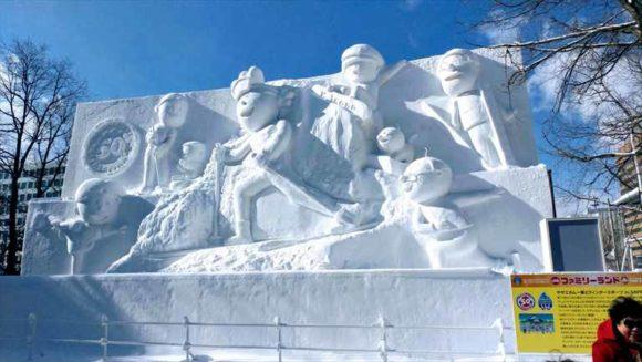 さっぽろ雪祭り2020「大通公園10丁目」雪像