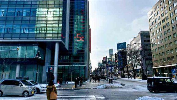 2月の札幌の気温
