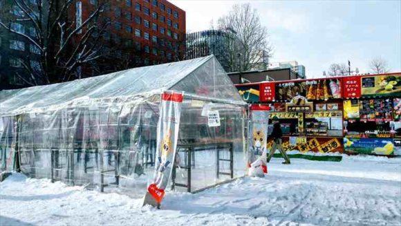 さっぽろ雪祭り「大通公園4丁目」
