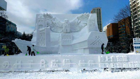 さっぽろ雪祭り2020「大通公園8丁目」雪像