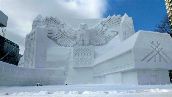 さっぽろ雪祭り「大通公園8丁目」