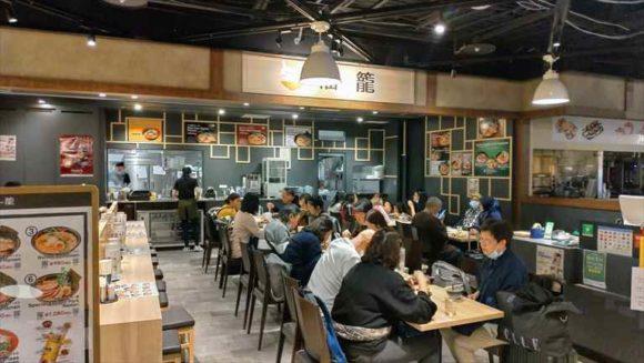 新千歳空港国際線の食堂街
