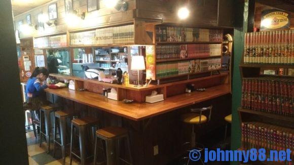 札幌東区キャロルのカウンター