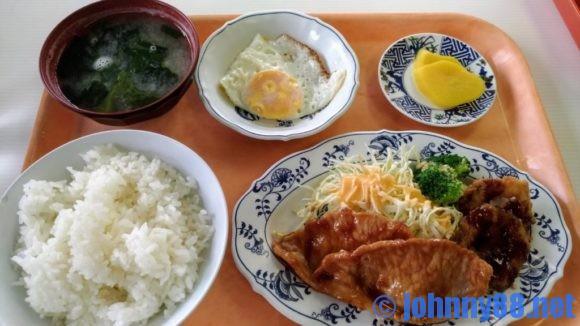 札幌市交通局豊水すすきの駅食堂の日替わり定食