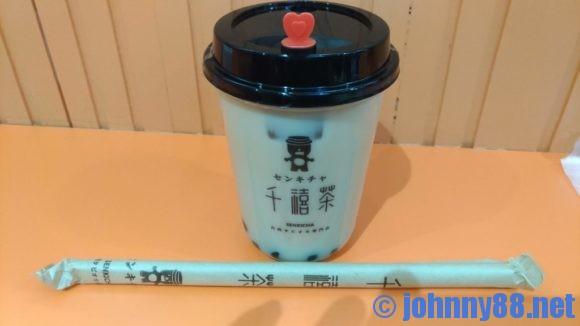 千禧茶(せんきちゃ)のタピオカミルクティー