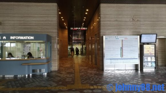 札幌市役所エレベーターホール