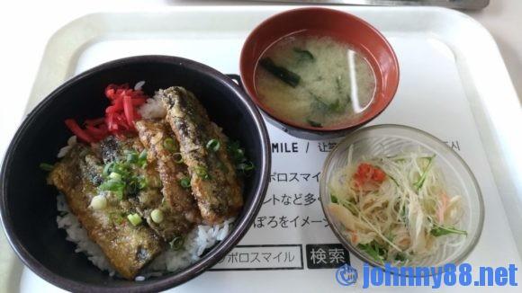 札幌市役所地下食堂の日替わり丼