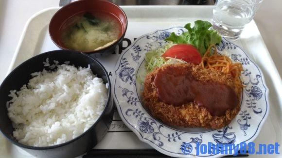 札幌市役所地下食堂らいらっく定食