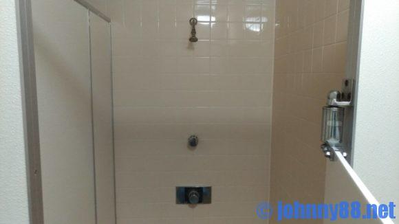 オートリゾート苫小牧アルテンのシャワー室