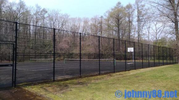 オートリゾート苫小牧アルテンのテニスコート