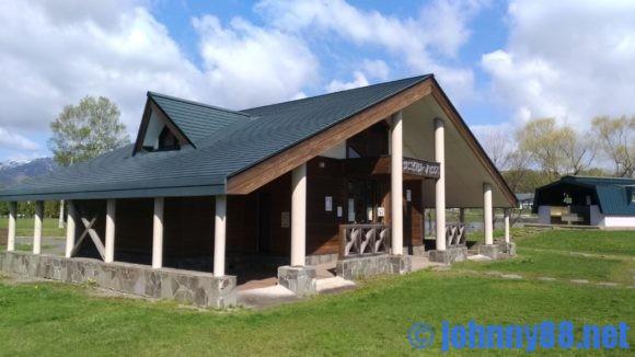 鶴沼公園キャンプ場サニタリーハウス