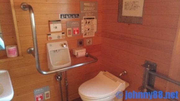 オートリゾート滝野キャビンSのトイレ