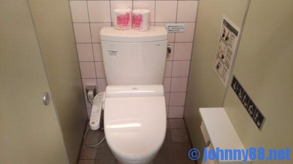 オートリゾート滝野のサニタリーハウストイレ