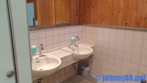 オートリゾート滝野キャビンAのトイレ