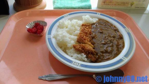 清田区役所食堂のカツカレー