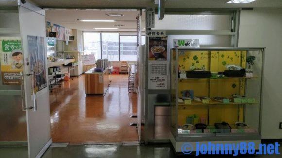 札幌東区役所食堂入り口
