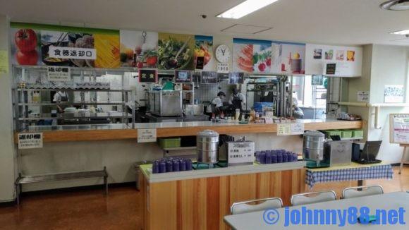 札幌東区役所食堂