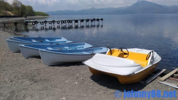 支笏湖のレンタルボート
