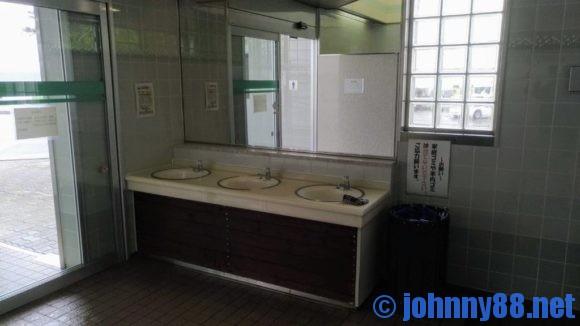 クッチャロ湖畔キャンプ場のトイレ