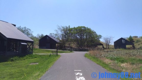 宗谷ふれあい公園オートキャンプ場のロッジ