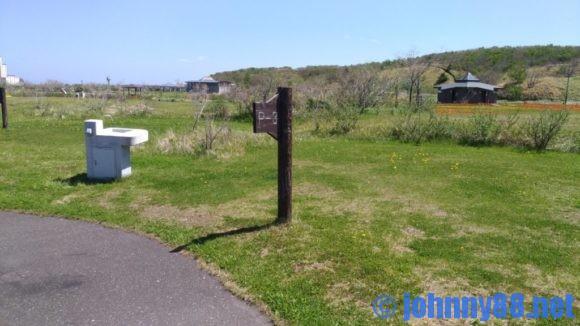 北海道立宗谷ふれあい公園オートキャンプ場のプライベートサイト